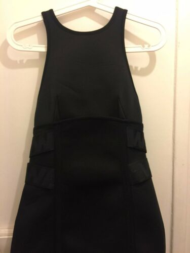 m Nwt Brand Alexander Wang Scuba Nero 38 Dress New X H qvXUPXx