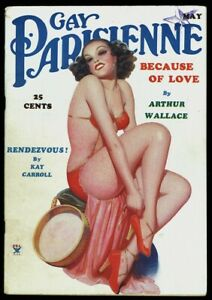 Hi-Grade-Spicy-Pulp-Gay-Parisienne-Enoch-Bolles-Pin-up-Magazine-May-1935-Rare