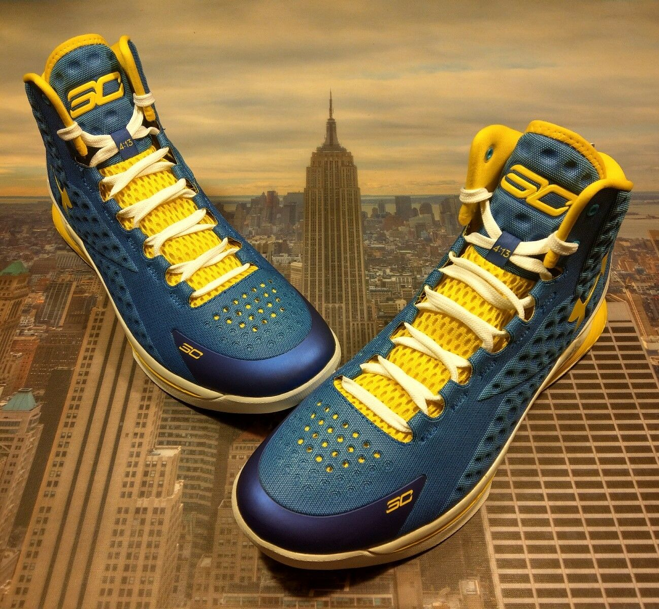 Under Armour Armour Under UA Curry 1 One SC1 Home I Can Do All Things Size 15 1258723 402 New 769c18