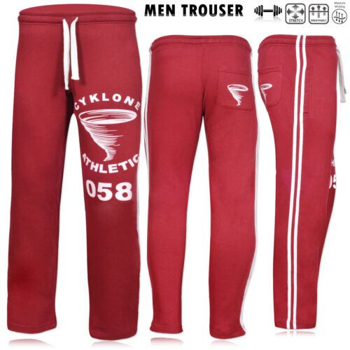 Mens Tracksuit Bottom Sweat Pant Gym Fitness Training Trouser Casual Trousers