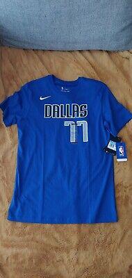 3.Dallas Mavericks Casual T shirt /à manches courtes Homme Jersey luka Doncic #77 T shirts Lettres Imprimer Sports de basket Tee-shirt