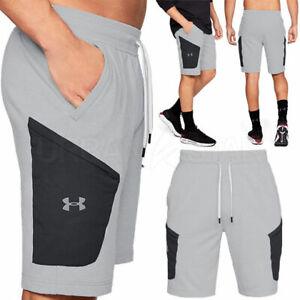 Men-039-s-Under-Armour-Microthread-Terry-Shorts-Ultra-Soft-Fleece-Casual-Shorts