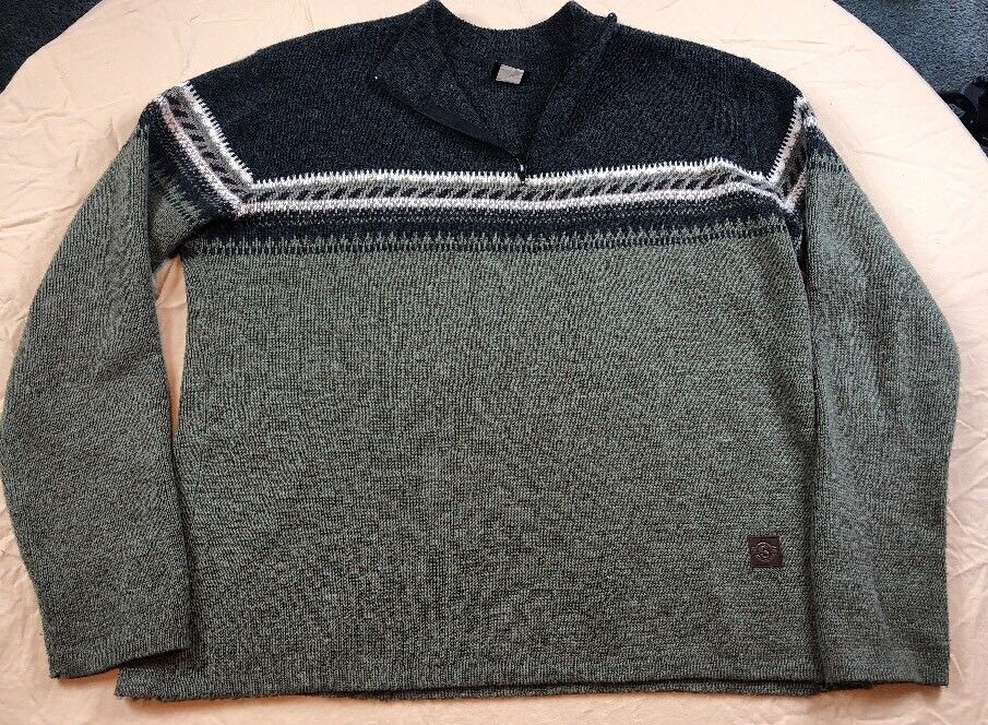 Vintage Sims Snowboarding Sweater Men's large Made in USA