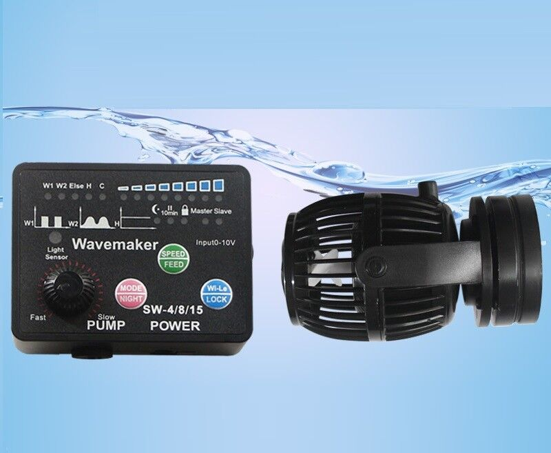 Jebao SW2 SW4 SW8 SW15 Wave Maker Pump with Controller Powerhead Pump Hot Sale