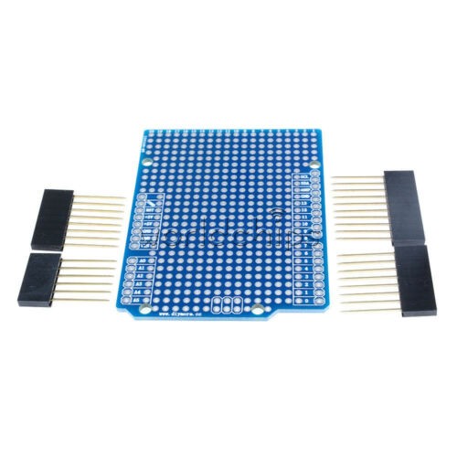 For Arduino UNO R3 Shield Board Prototype PCB Atmega328P 2.54mm Pitch Breadboard