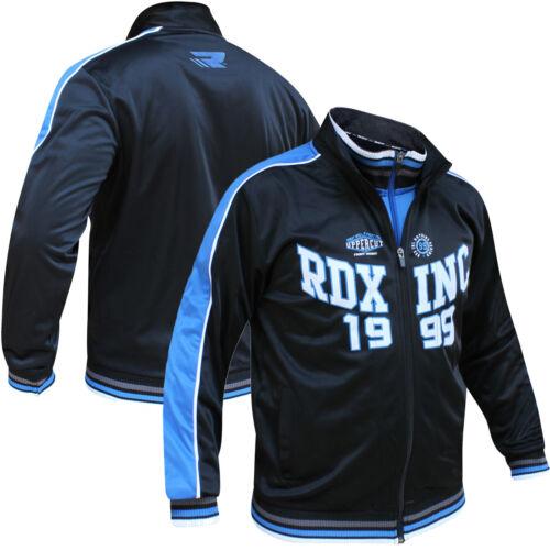RDX Mens Zip Up Jumper Sweatshirt Top Training Jacket Tracksuit Jogging Running