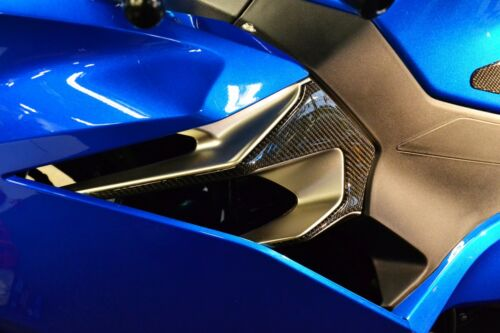 Fit Kawasaki Ninja 400 2018 Real CARBON FIBER sides air inlets trim kit