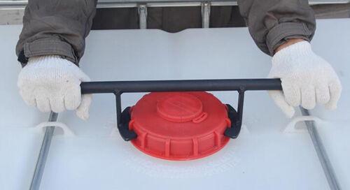 1000L IBC Water Tank Vented Schutz Respiratory Cover Lid Cap adaptor 150mm