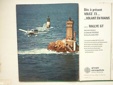 10/1972 PUB AEROSPATIALE RALLYE GT 150 180 220 PHARE FLUGZEUG ORIGINAL AD