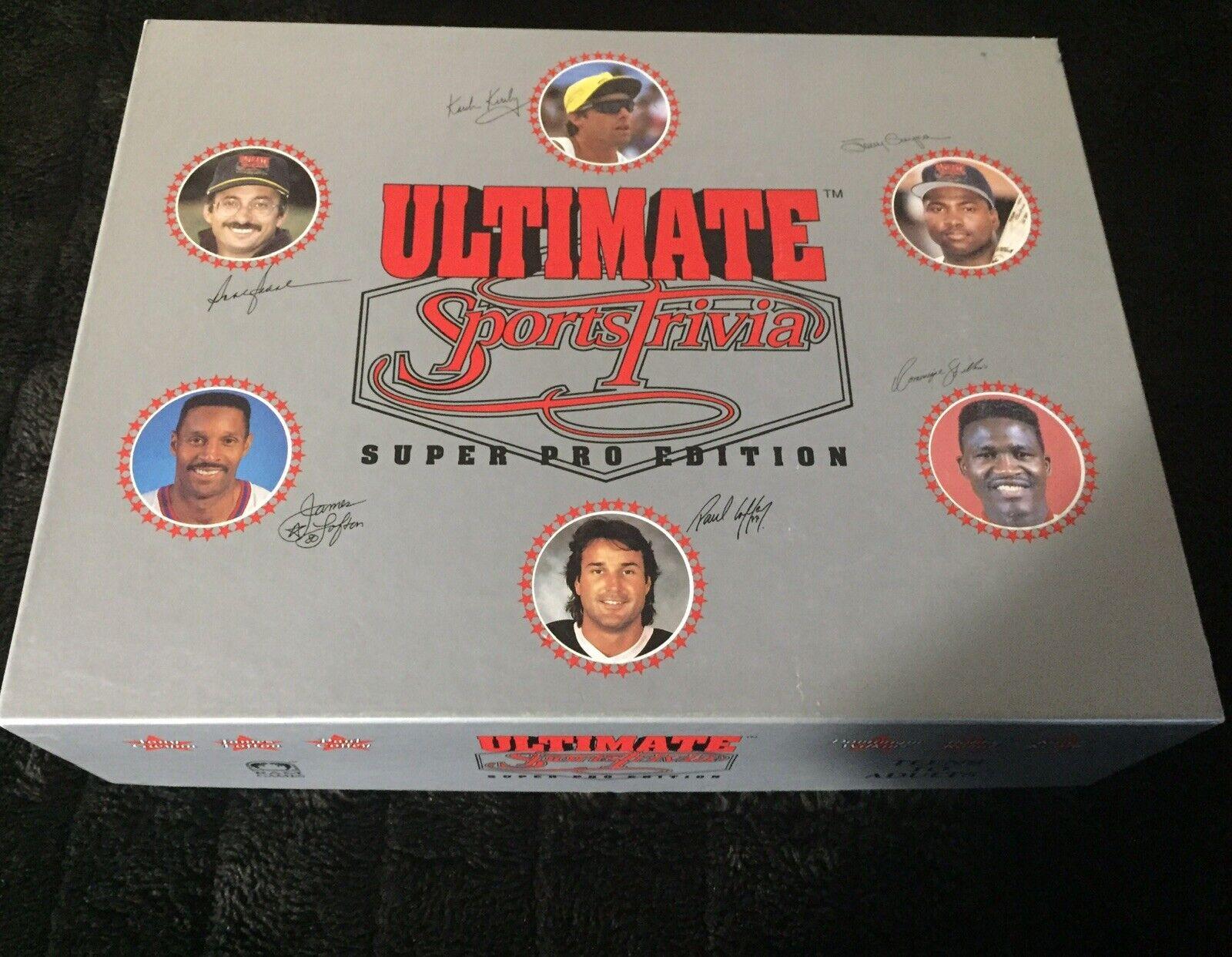 risparmia il 35% - 70% di sconto Ultimate Sports Trivia Super Pro edizione 1992 1992 1992 (Open But Never Used) completare nuovo  ultimi stili