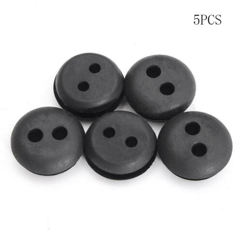 5 X 2 Hole Fuel Gas Tank Line Grommet Replacement Fit For Trimmer Lawn Mower Kit