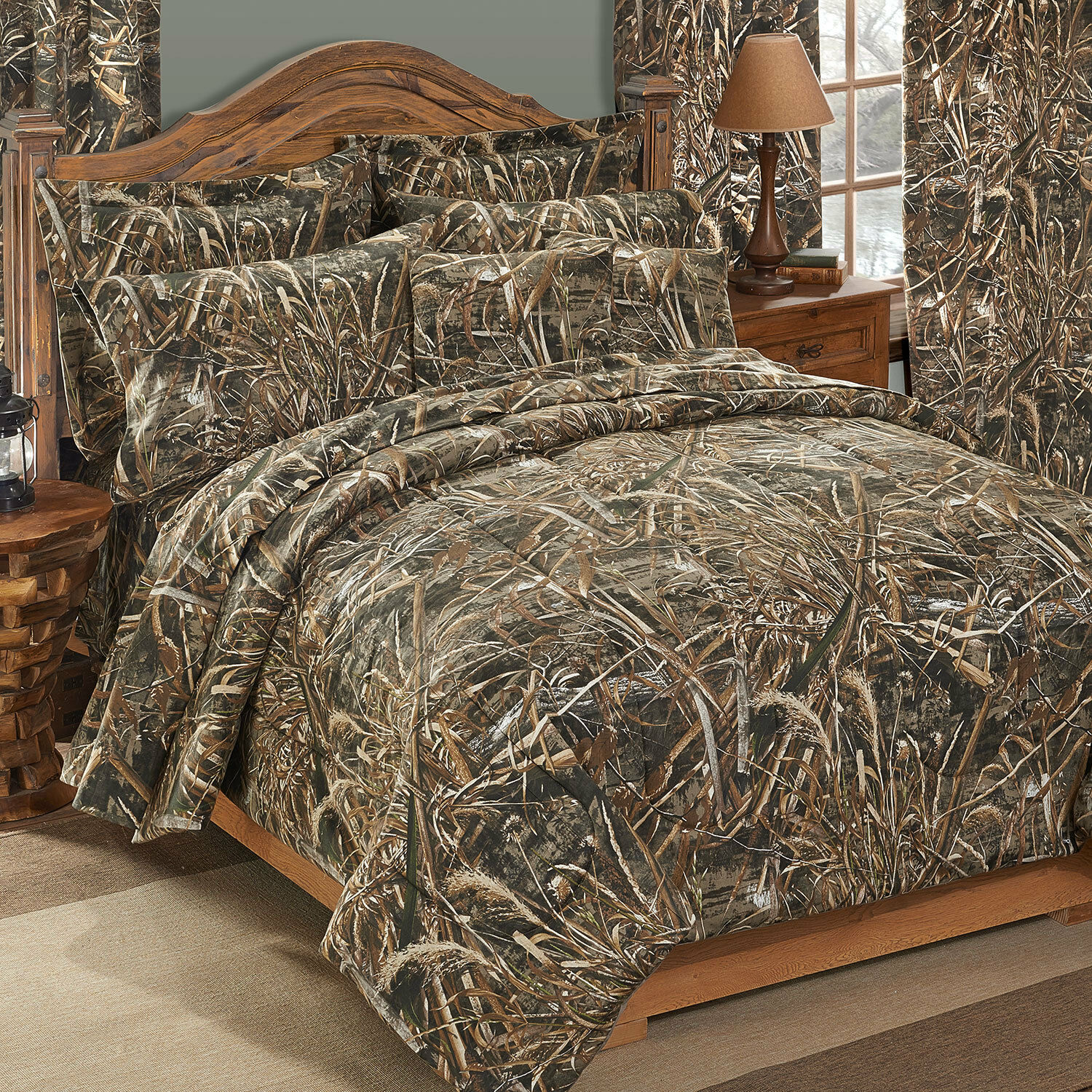 Realtree Max 5 Camo Comforter Set with FREE Valance and Shipping