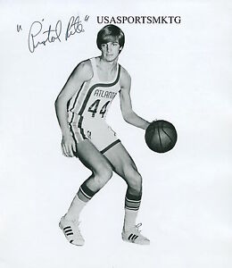 "Atlanta Hawks ""Pistol Pete"" Maravich Signed 8x10 Photo Reprint Autographed RP"