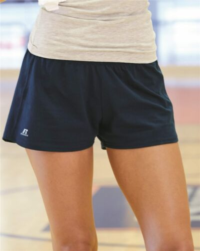 "Russell Athletic 64BTTX Essential Jersey Women/'s 3/"" Inseam Shorts"