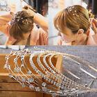 Fashion Women Jewelry Metal Crystal Rhinestone  Headband Head Piece Hair Band