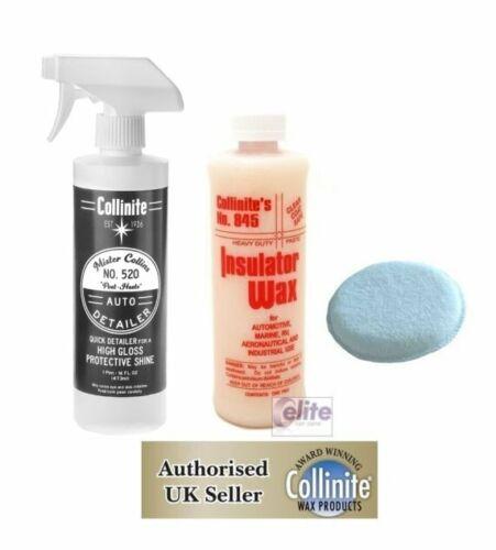 Collinite Aislante Cera 845 /& Mister Collins 520 Aplicador rápida representante Inc