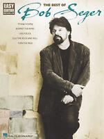 Best Of Bob Seger Easy Guitar Tab Sheet Music Chords Lyrics Rock Songs Book