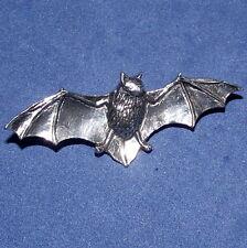 Zauberei Zinn Gothic Flügel Ausgebreitet Fledermaus Brosche Stift