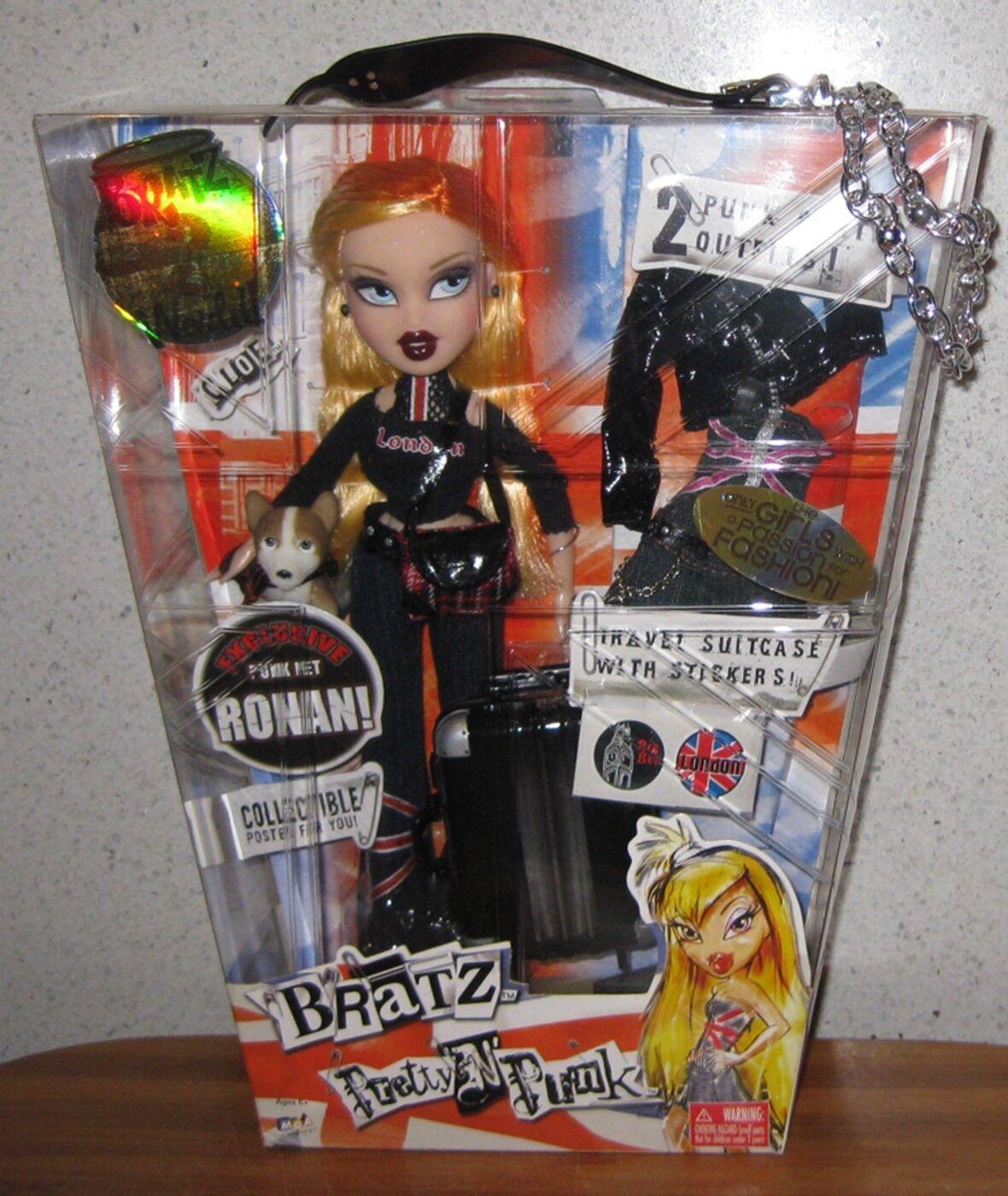 Bratz muy 'n' Punk Cloe lanzó 2005   en Caja Original