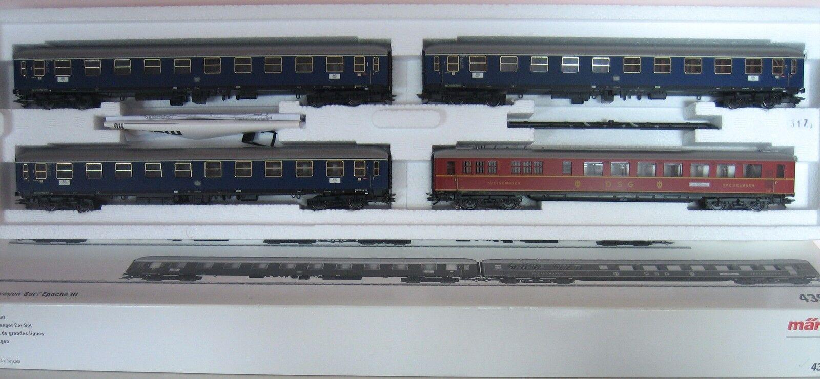 MÄRKLIN H0 43929 Express Express Express Train Set Train Set DB MINT ORIGINAL BOX bf362b