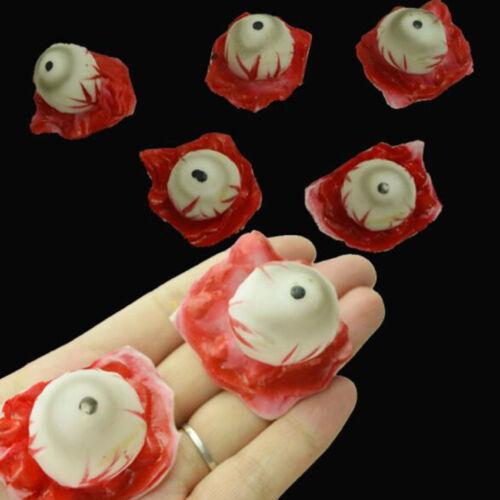 Realistic Horror Fake Eyeball Halloween Scary Body Parts Eye Props Party Decor
