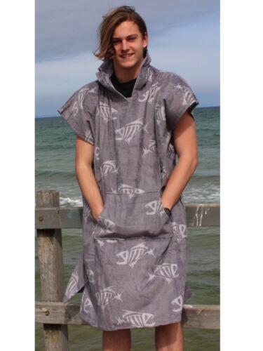Poncho changing robe back beach co Fish Bone