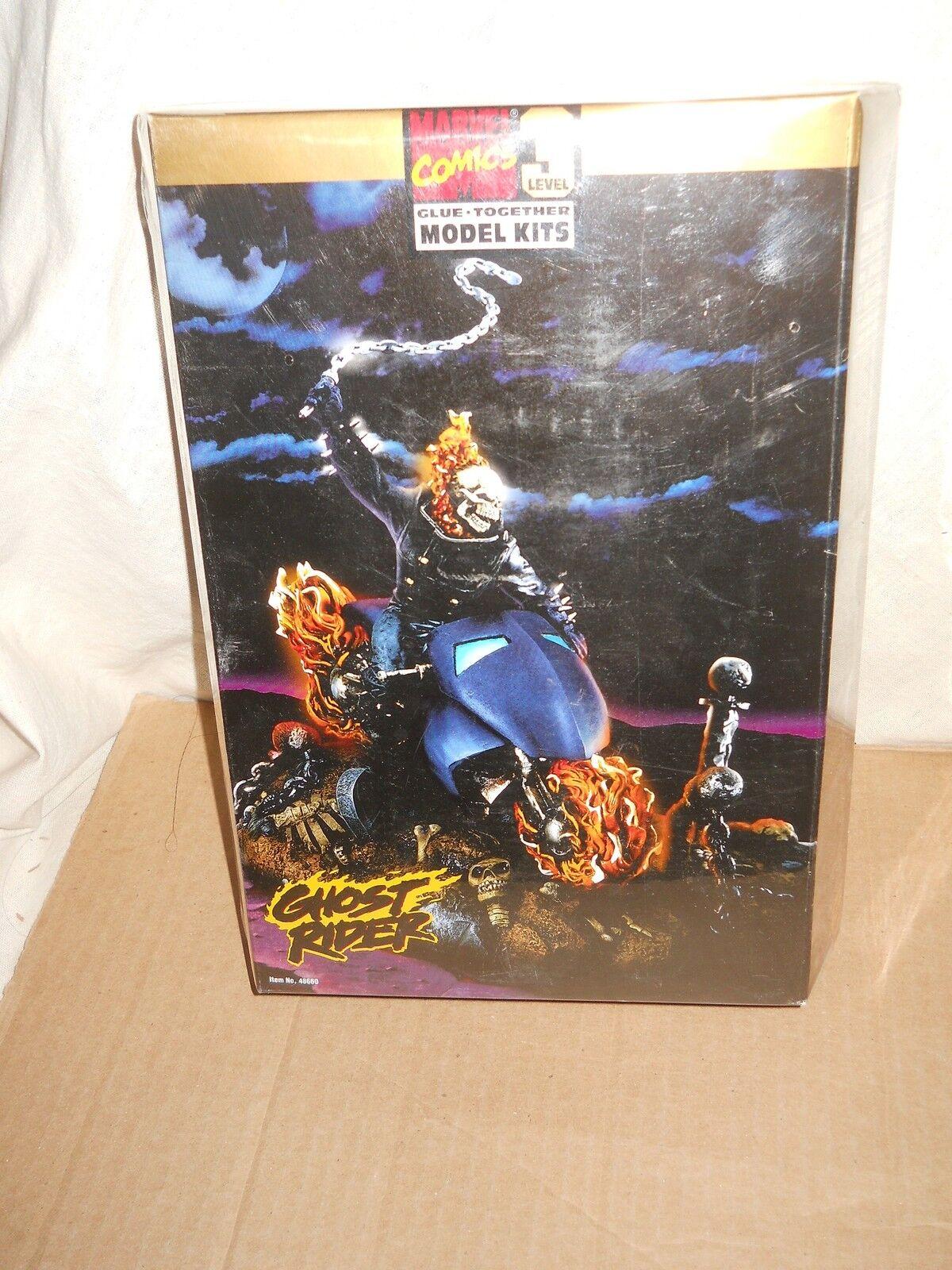 ToyBiz  Marvel Comics 3 level Glue-Together Model Kits  Ghost Rider (48660)