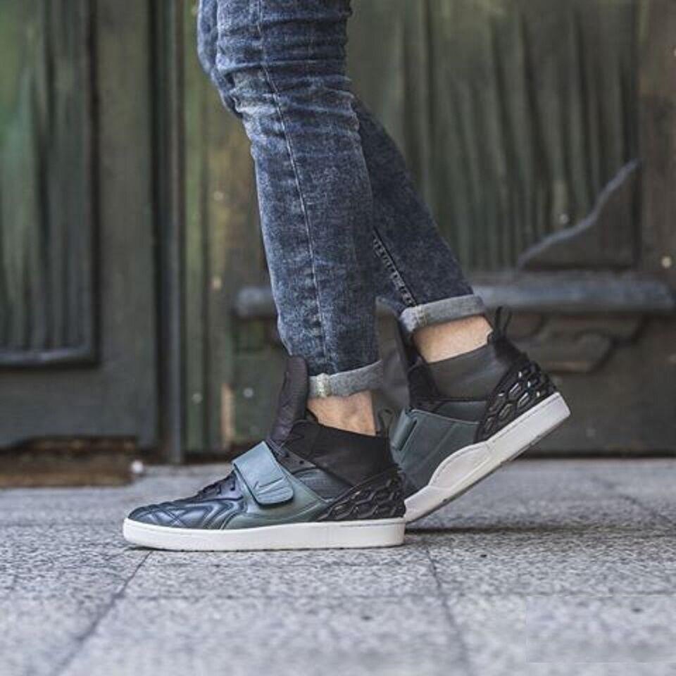 Nike TIEMPO VETTA QS Scarpe Da Ginnastica Mid moda casual-(EUR 41) RRP -RARO