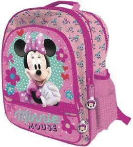 Kleinkind Mädchen Jungen Reise Schultertaschen Ranze Rucksack Mickey Minnie Maus