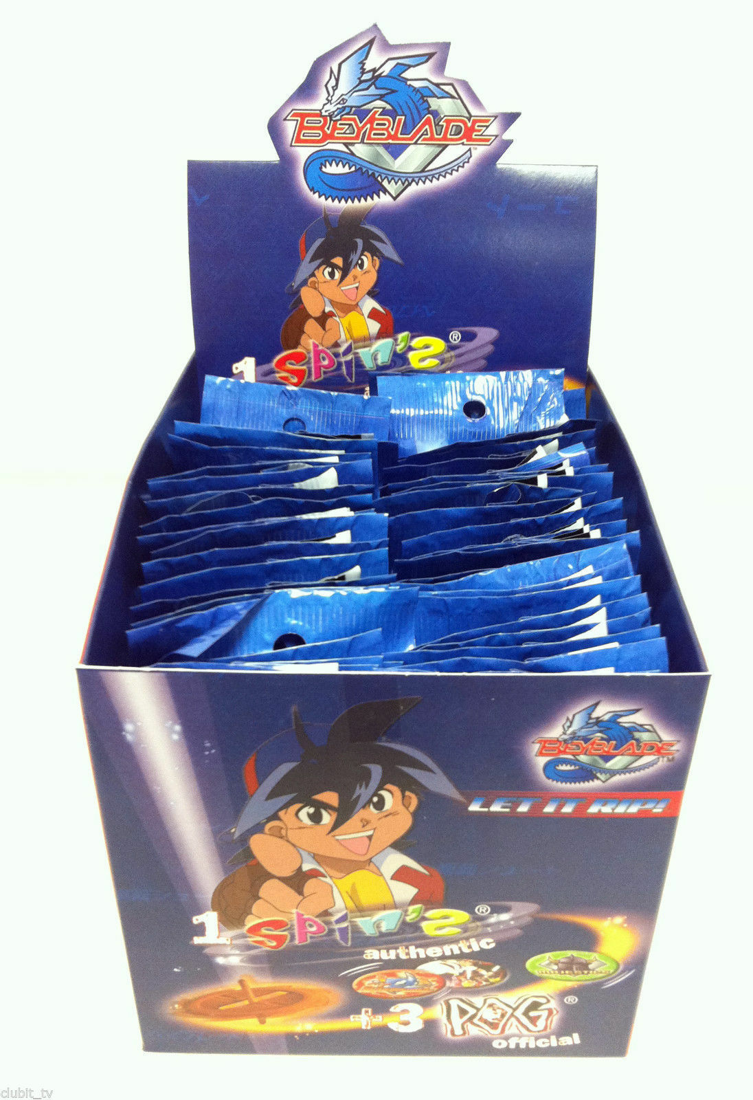 Beyblade Pogs Spinning Top Booster Packs Rare Collectable Fun Retro Spinners NEW