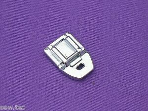 ZIPPER FOOT INVISIBLE CONCEALED  SNAP ON FITS MOST SEWING MACHINE BRANDS
