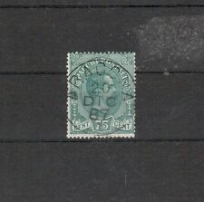 Italien Paketmarken Michelnummer 4 gestempelt