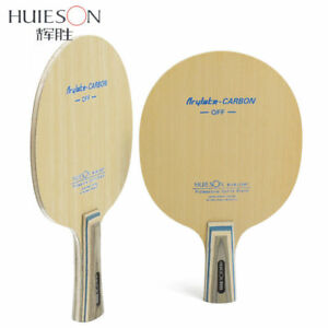 Image Is Loading Huieson 7 Ply Arylate Carbon Fiber Table Tennis