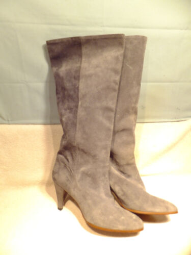 """Golo Grey Suede Leather 13.75"""" Tall-Pull On Ridin"""