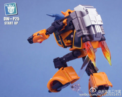 Dr.Wu DW-P25B  Black Start Up Upgrade kit for MP21 BumbleBee,In Stock