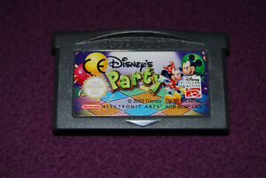 DISNEY-039-S-PARTY-EA-Disney-Jeu-Party-Game-Boy-Advance-GBA-UKV