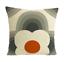 Orla Kiely-à rayures Pétale-Orange-Housse de Coussin-plusieurs tailles disponibles