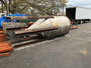 316 Stainless Steel Food Grade Tank Approx. 1800 Gallons Used Good Condition