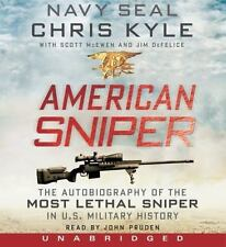 American Sniper : The Autobiography of the Most Lethal Sniper in U. S. Military History by Chris Kyle, Jim DeFelice and Scott McEwen (2012, CD, Unabridged)