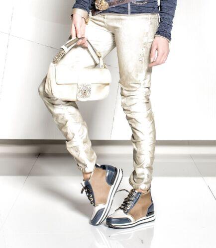 Gr 16 Tubo pantaloni koll 17 Hw Argento 30 jeans Elisa Cavaletti XwqZaa