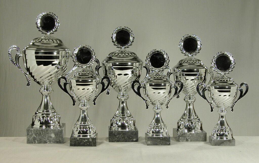 6 Pokale wahlweise goldfarben silber oder goldfarben wahlweise 4b573d