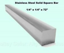 Square Stock 304 Stainless Steel 14 X 14 X 72 Solid Square 6ft Long Bar