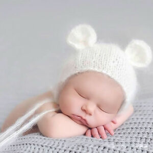 New Newborn Baby Girls Boys Crochet Knit Costume Photo Photography Prop Outfit