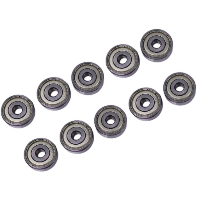 2x 6703 Open17x23x4 17mm Ring Spinner Ball Bearing Steel Flame US Ship
