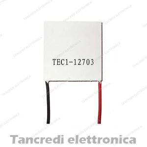 Cella-di-peltier-TEC1-12703-46W-12V-3A-30x30mm-15-4V-raffreddamento-cpu-cooler