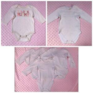 Gap Next Baby Girl Body Gilet Ange Taille 3-6 Mois-afficher Le Titre D'origine Dans La Douleur