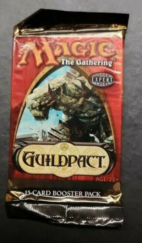 MTG GUILDPACT Booster Pack Factory Sealed Magic English Rare
