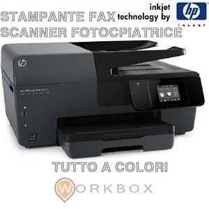 Stampante-Multifunzione-HP-Officejet-Pro-6830-Ink-jet-A4-FOTOCOPIATRICE-FAX-E3