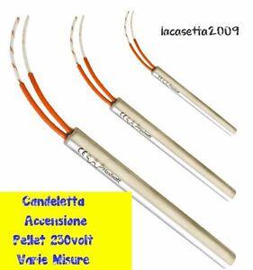Candeletta accensione pellet varie misure per stufe for Stufa a pellet non si accende candeletta
