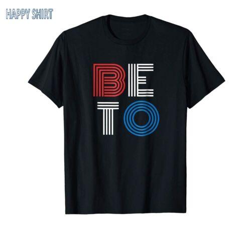 Beto O/'Rourke Election Black T-shirt For Halloween Men/'s Clothing S-3XL Print US